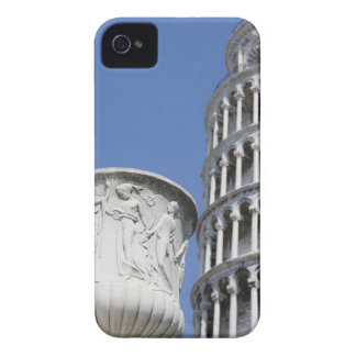 Large urn next to Leaning Tower of Pisa, Italy iPhone 4 Cover