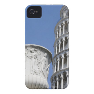 Large urn next to Leaning Tower of Pisa, Italy iPhone 4 Covers