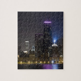 Large view of the northern Chicago skyline at Jigsaw Puzzle