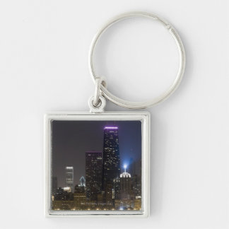 Large view of the northern Chicago skyline at Key Ring