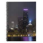 Large view of the northern Chicago skyline at Spiral Notebooks