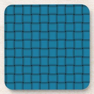 Large Weave - Celadon Blue Coaster