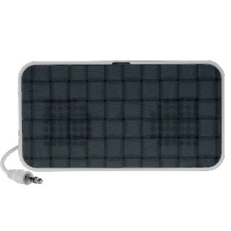 Large Weave - Charcoal Laptop Speakers