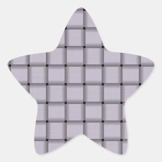 Large Weave - Languid Lavender Sticker