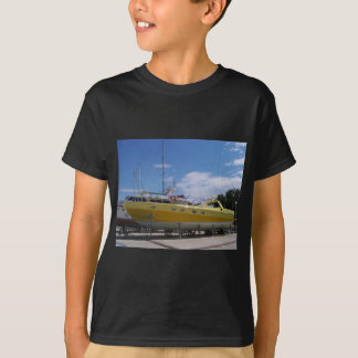 Large Yellow Powerboat T-Shirt