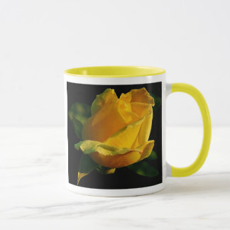 Large Yellow Rose Mug