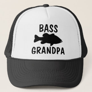 Largemouth Bass Fishing template Trucker Hat