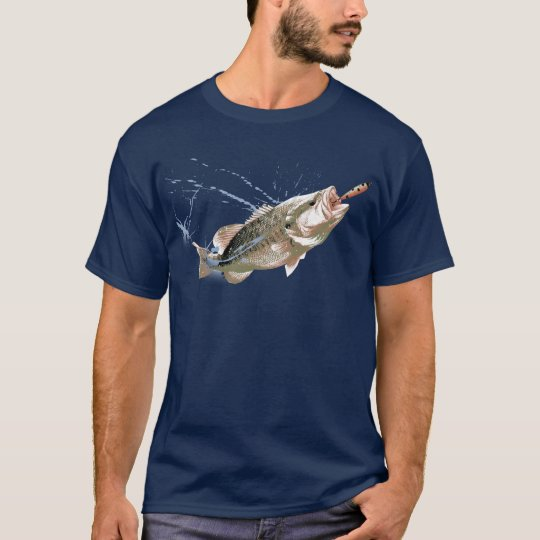 largemouth bass jump T-Shirt