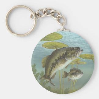 Largemouth Bass Keychain