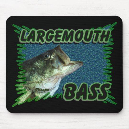 Largemouth Bass Mouse Mat