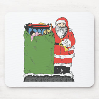 Larger Than Life Santa Mouse Pad