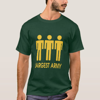 Largest Army - Original T-Shirt