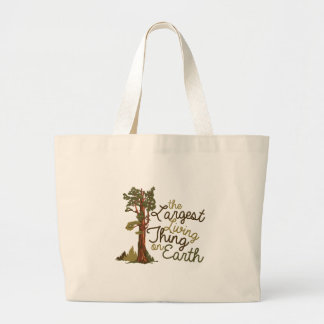 Largest Living Thing Jumbo Tote Bag