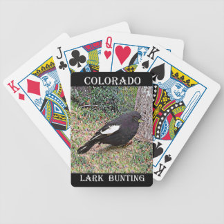 Lark Bunting (Colorado) Bicycle Playing Cards