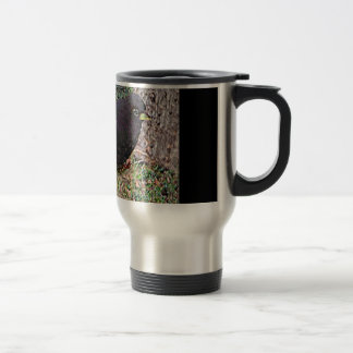 Lark Bunting (Colorado) Travel Mug