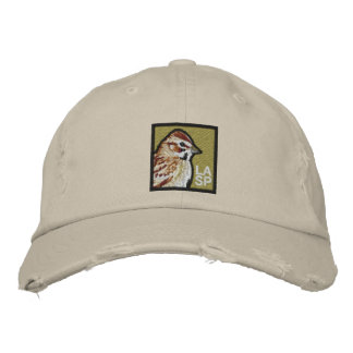 Lark Sparrow Embroidered Baseball Cap