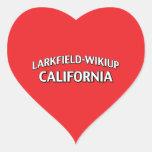 Larkfield-Wikiup California Heart Sticker