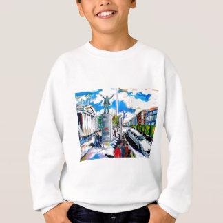 larkin monument oconnell street dublin sweatshirt