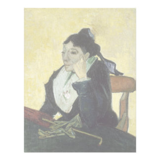 L'Arlesienne: Madame Ginoux by Vincent Van Gogh Custom Flyer