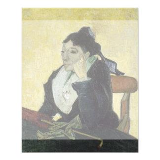 L'Arlesienne Madame Ginoux by Vincent Van Gogh 11.5 Cm X 14 Cm Flyer