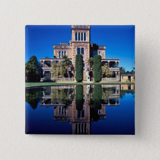 Larnach Castle, Dunedin, New Zealand 15 Cm Square Badge