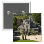 Larnach Castle, Dunedin, New Zealand - aerial 15 Cm Square Badge