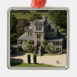 Larnach Castle, Dunedin, New Zealand - aerial Christmas Ornament