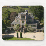 Larnach Castle, Dunedin, New Zealand - aerial Mouse Pad