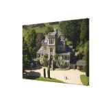 Larnach Castle, Dunedin, New Zealand - aerial Stretched Canvas Print