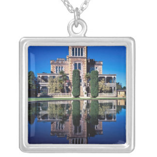 Larnach Castle, Dunedin, New Zealand Silver Plated Necklace