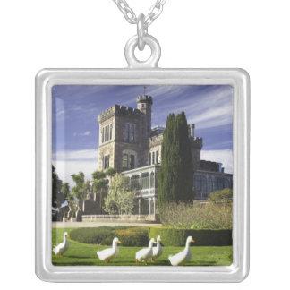 Larnach Castle, Otago Peninsula, Dunedin, Silver Plated Necklace