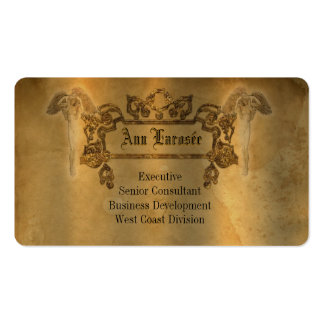 Larosée Biz  Round Edge Customizable Pack Of Standard Business Cards