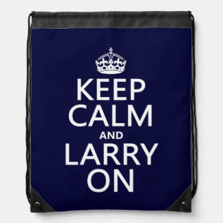 Larry On Drawstring Bags