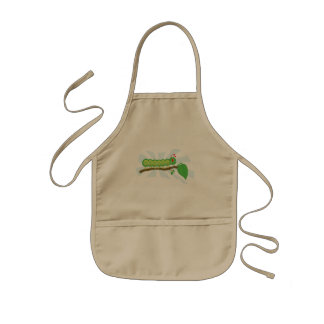 Larry the Caterpillar Character Apron