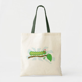 Larry the  Caterpillar Illustration Tote Bag