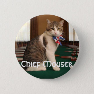 Larry the Downing Street Cat chief mouser badge
