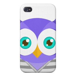 Larry the Purple Owl (Original) iPhone 4 Cases