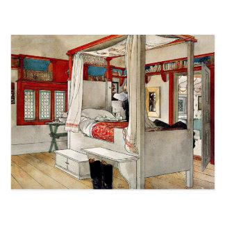 Larsson - Daddy-s Room Postcard