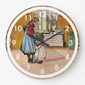Larsson - The Kitchen Large Clock