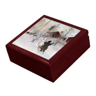 Larsson: The Yard and Wash-House artwork Gift Box