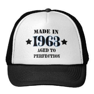 Larva in 1963 - Aged ton perfection Cap