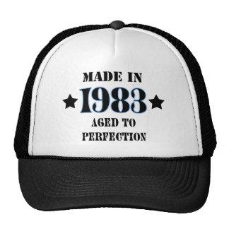 Larva in 1983 - Aged ton perfection Cap