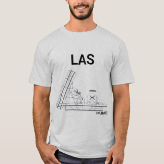 LAS Airport Layout T-Shirt