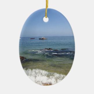 Las Caletas beach at Puerto Vallarta, Mexico Christmas Ornament