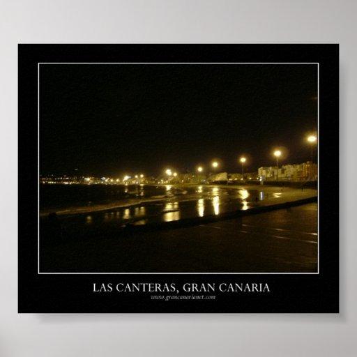 Las Canteras, Gran Canaria Poster