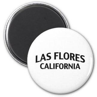 Las Flores California Magnet