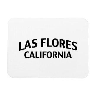 Las Flores California Vinyl Magnet