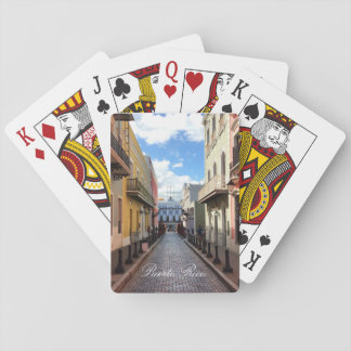 Las Fortaleza - Old San Juan, Puerto Rico Playing Cards