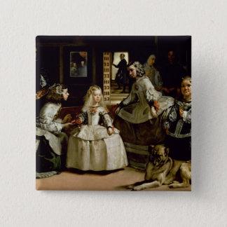 Las Meninas detail of the lower half depicting 15 Cm Square Badge