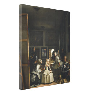 Las Meninas Diego Velázquez Fine Art Canvas Print